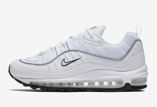 Nike Air Max 98 White Reflective Silver