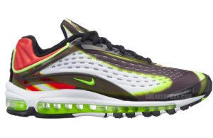 Nike Air Max Deluxe Black Volt Habanero Red AJ7831-003