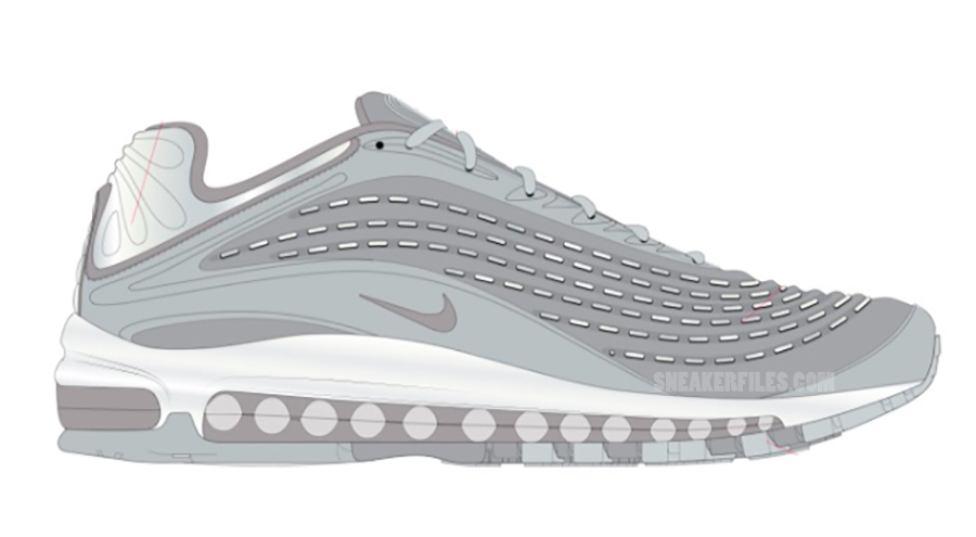 Nike Air Max Deluxe Retro Pure Platinum White