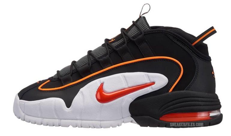Nike Air Max Penny 1 Black Orange Red