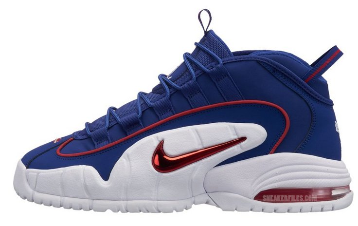 Nike Air Max Penny 1 Blue Red White