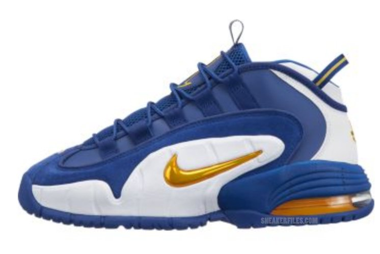 Nike Air Max Penny 1 Blue Yellow White