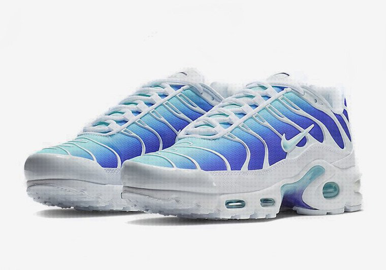 finest selection 8713c e0769 Nike Air Max Plus OG White Blue 2018