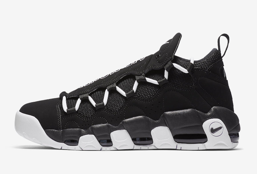 Nike Air More Money Black White
