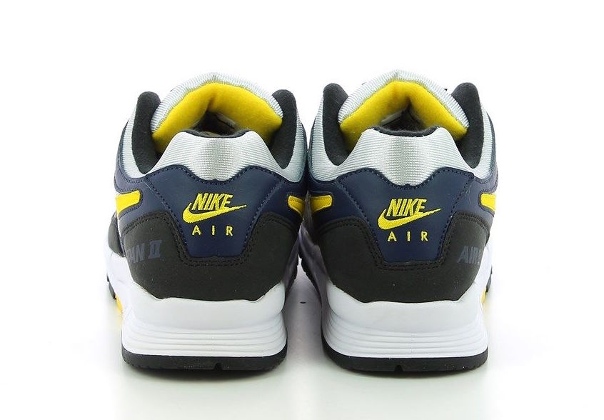 Nike Air Span II Midnight Navy Tour Yellow AH8047-401