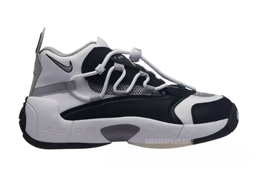 Nike Air Swoopes 2 Black Atmosphere Grey 917592-001