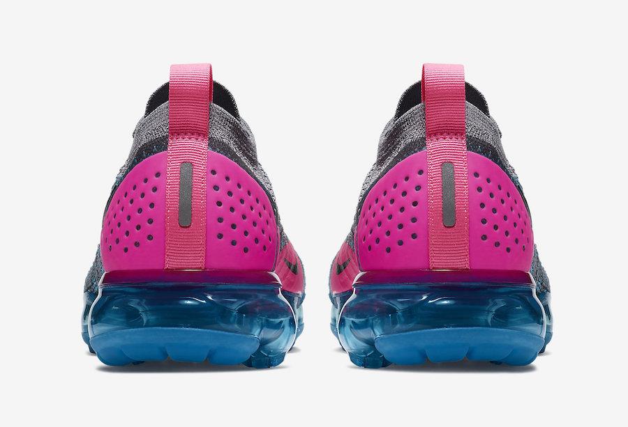 Nike Air VaporMax 2 Gunsmoke Blue Orbit Pink Blast 942843-004