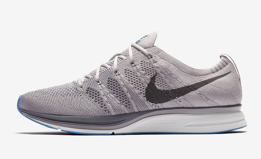 Nike Flyknit Trainer Atmosphere Grey Thunder Grey Wolf Grey Blue AH8396-006