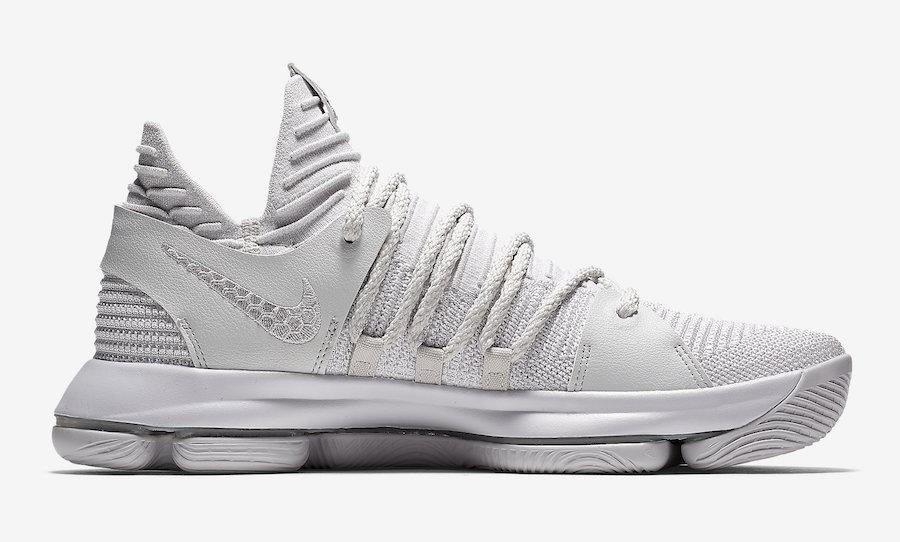 Nike KD 10 Platinum 897816-009