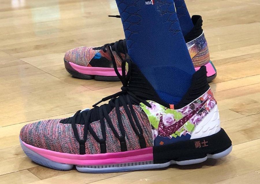 release date: 1743e 20c8b Nike KD 10 What The PE Release Info