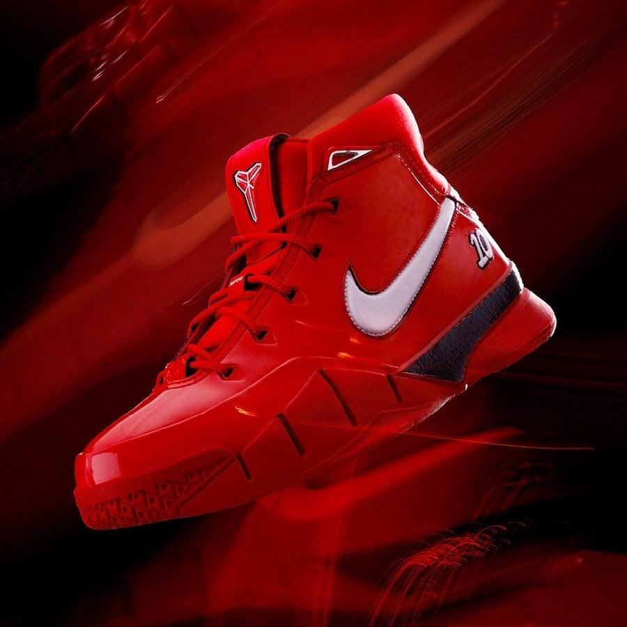 Nike Kobe 1 Protro DeMar DeRozan Red Release Date
