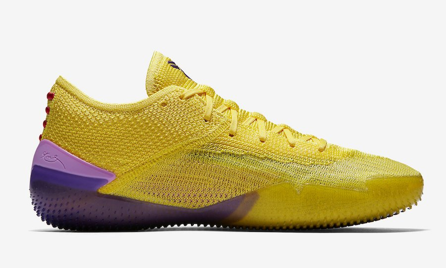 Nike Kobe AD NXT 360 Yellow Strike AQ1087-700