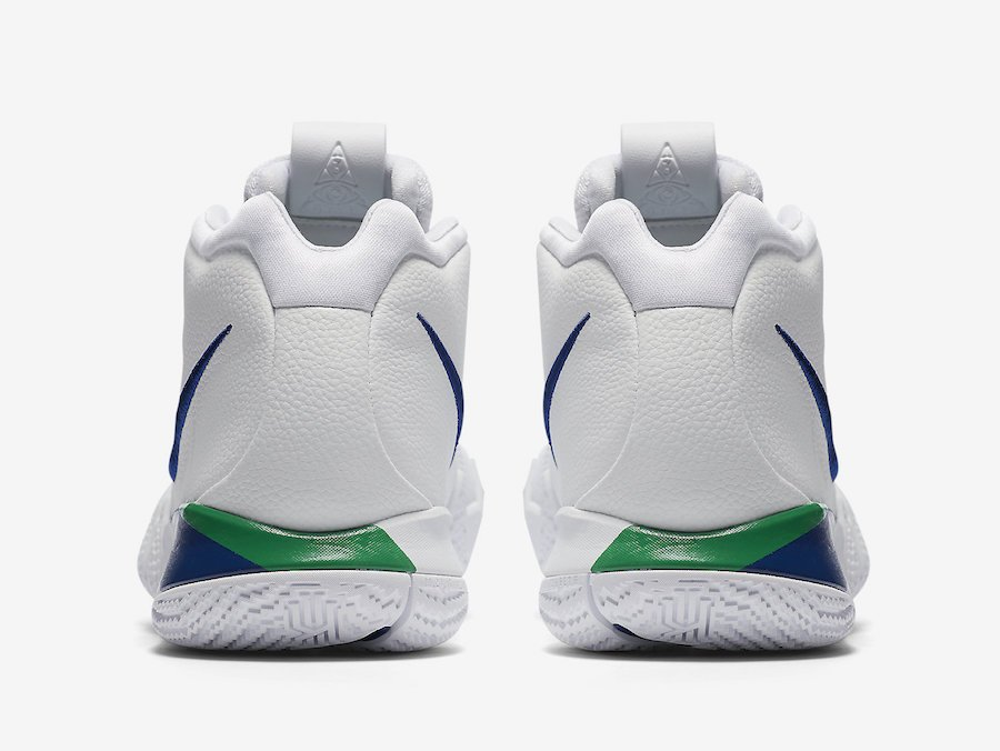 Nike Kyrie 4 White Deep Royal Blue 943806-103