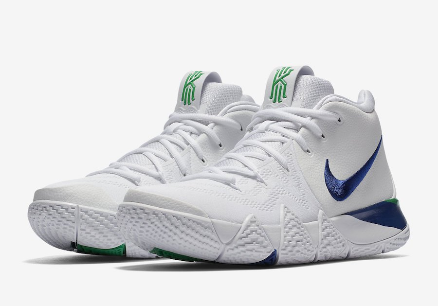 detailed look 43a7d 60f08 Nike Kyrie 4 Deep Royal 943806-103 Release Date | SneakerFiles