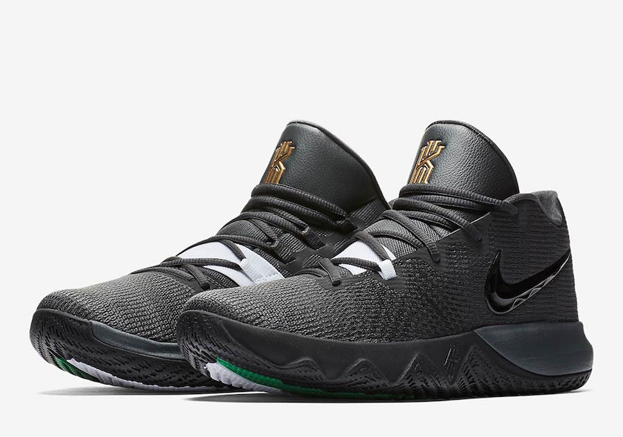 Nike Kyrie Flytrap Anthracite Black White Green 917962-600