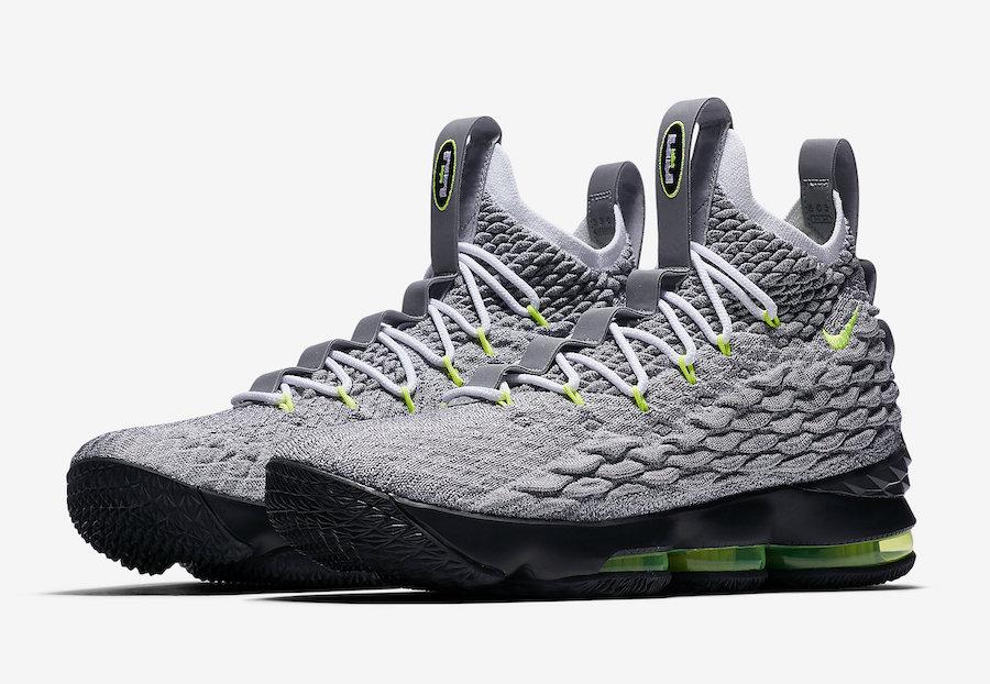 online retailer f91c0 25fa6 Nike LeBron 15 Neon LeBron Watch Restock