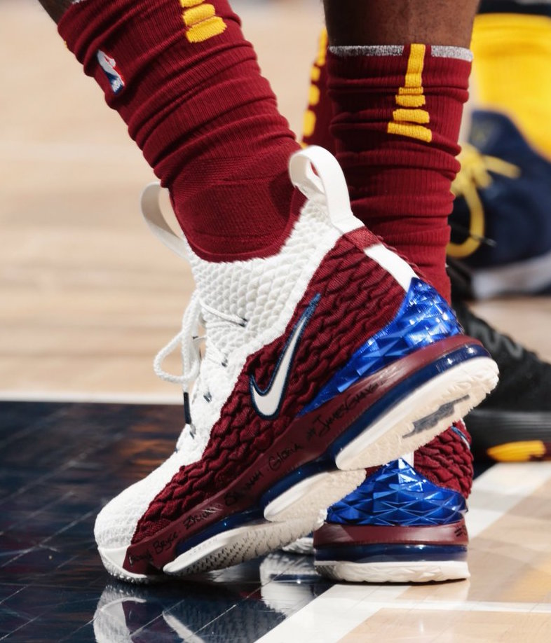 Nike LeBron 15 First Game AZG