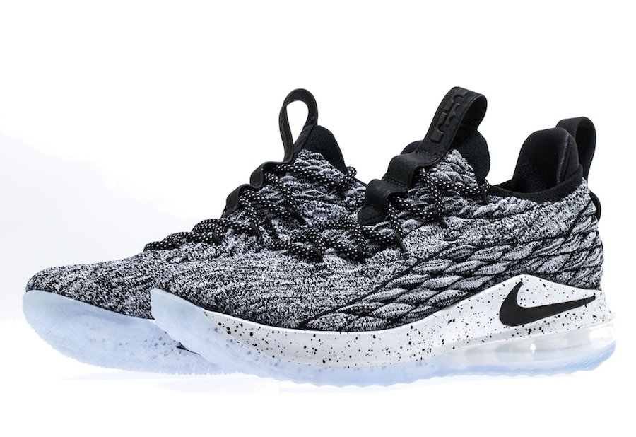official photos 4f341 1ce07 Nike LeBron 15 Low Oreo AO1755-002 | SneakerFiles