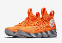 Nike LeBron 15 Orange Box Restock
