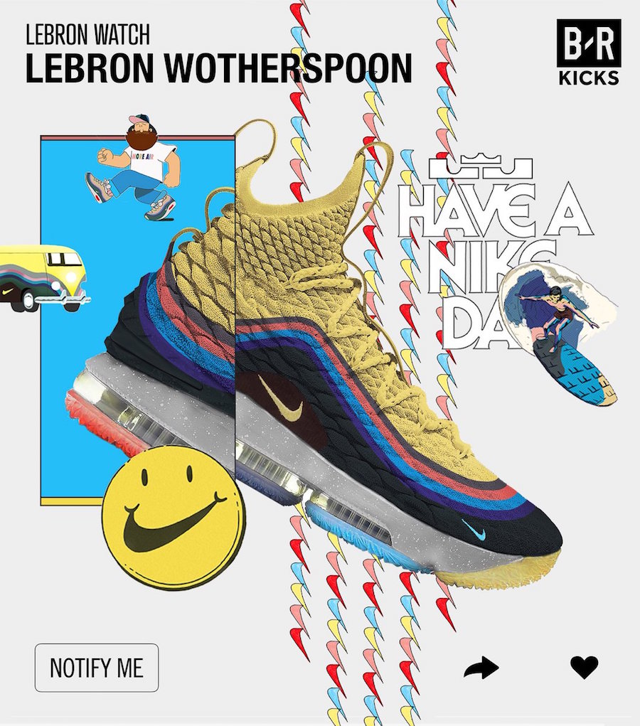 Nike LeBron 15 Wotherspoon