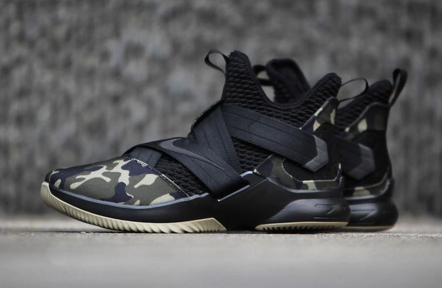 Nike Lebron Soldier 12 Sfg Camo Release Date Kyrie