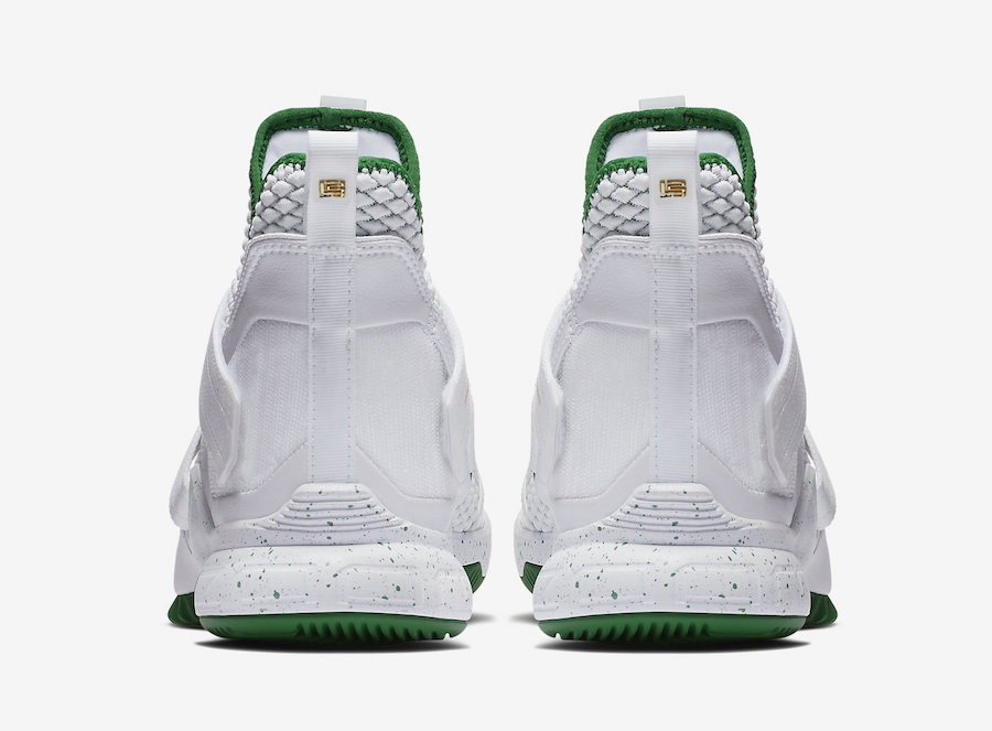 Nike LeBron Soldier 12 SVSM Home White Green AO2609-100