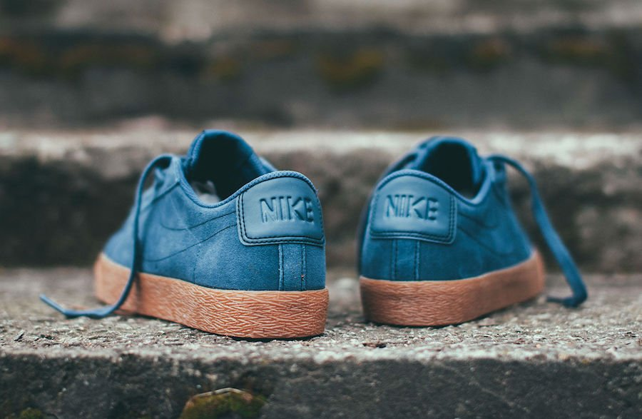 Nike SB Blazer Low Thunder Blue Gum 864347-400