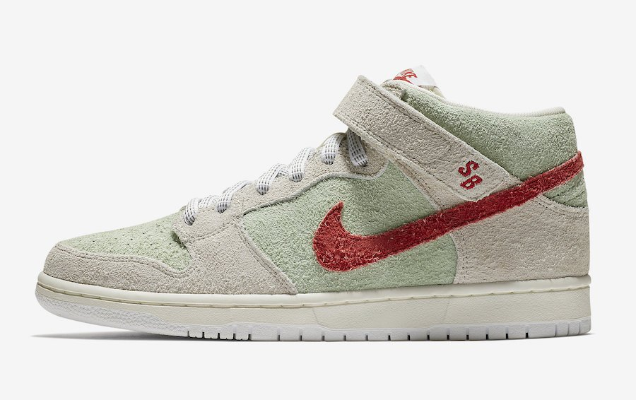 Nike SB Dunk Mid White Widow AQ2207-163