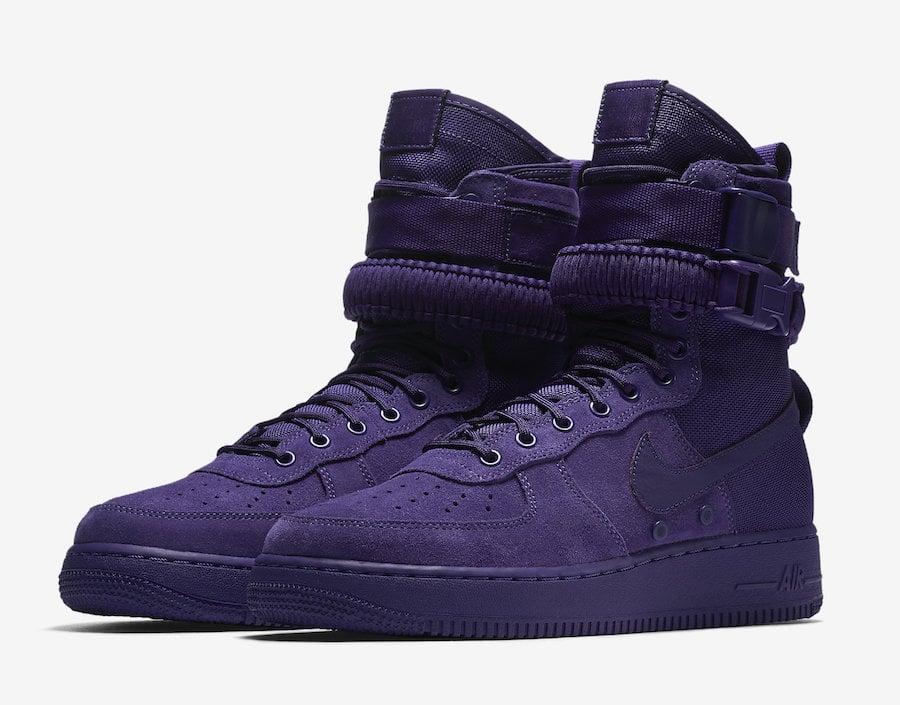 finest selection 756d4 73033 Nike SF-AF1 Court Purple 864024-500