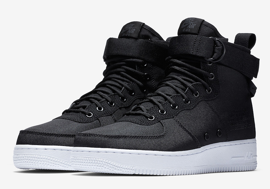 Nike SF-AF1 Mid Black Nylon 917753-006