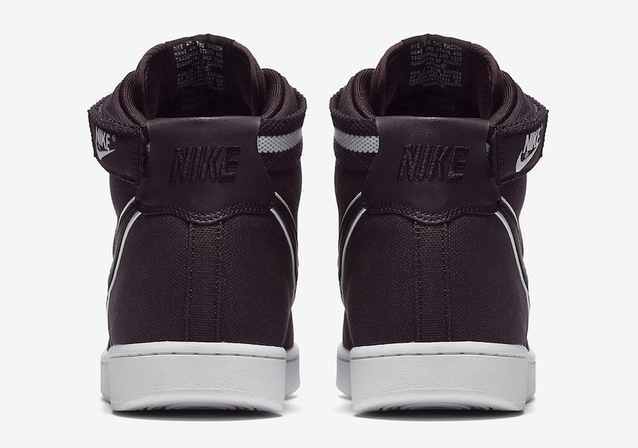Nike Vandal High Supreme Burgundy Ash 318330-600