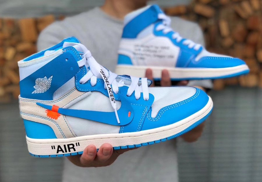 d3a1841d4a857e Detailed Look at the Off-White x Air Jordan 1  UNC  - Welcome