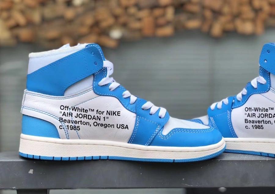air jordan 1 retro high off white powder blue