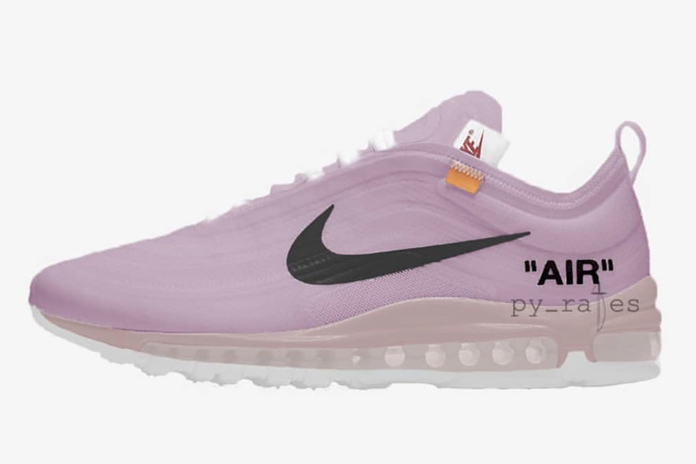 Off-White x Nike Air Max 97 'Elemental Rose' Releasing July 2018