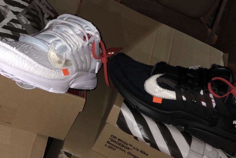 Off-White Nike Air Presto 2018 Black White