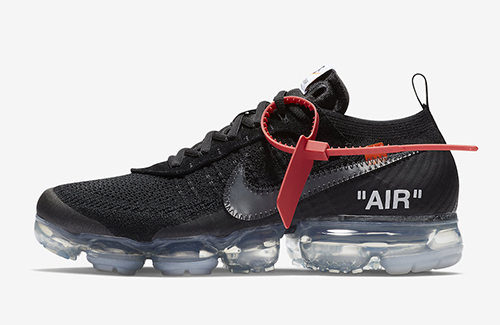 Off-White Nike Air VaporMax Flyknit Black
