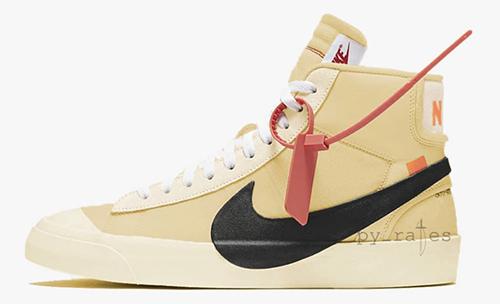 Off-White Nike Blazer Studio Mid Pale Vanilla
