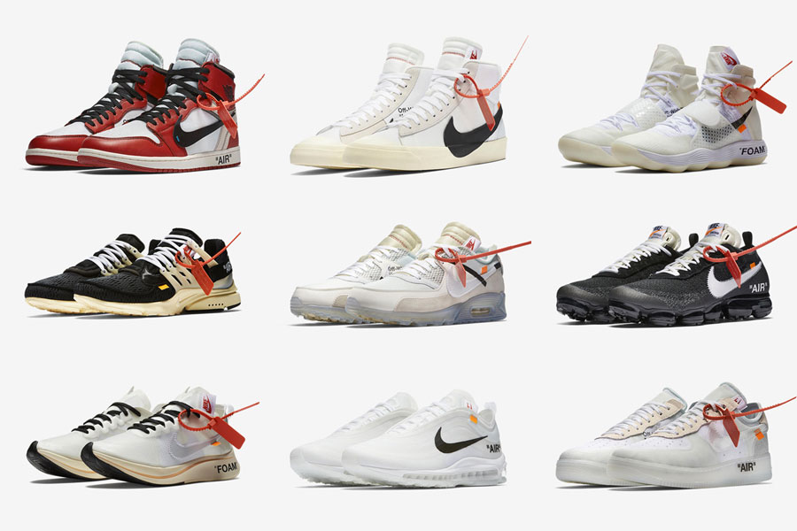 Off-White Nike The Ten Collection Instagram Raffle