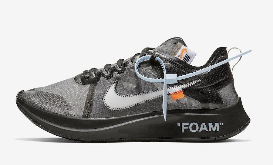 Off-White Nike Zoom Fly Black AJ4588-001 Release Date Info