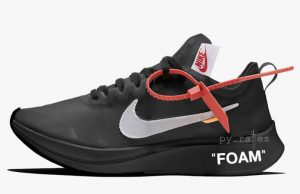 Off-White Nike Zoom Fly Black AJ4588-001 Release Date