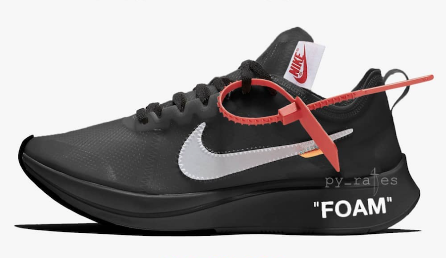 Off-White Nike Zoom Fly Black AJ4588-001