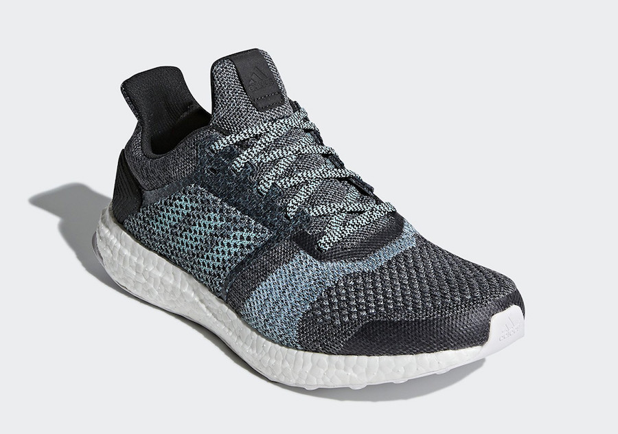 Parley adidas Ultra Boost ST Carbon Blue Spirit DB0925