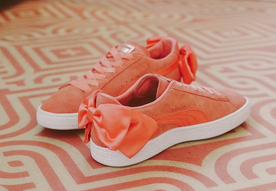 Puma Suede Bow Pink