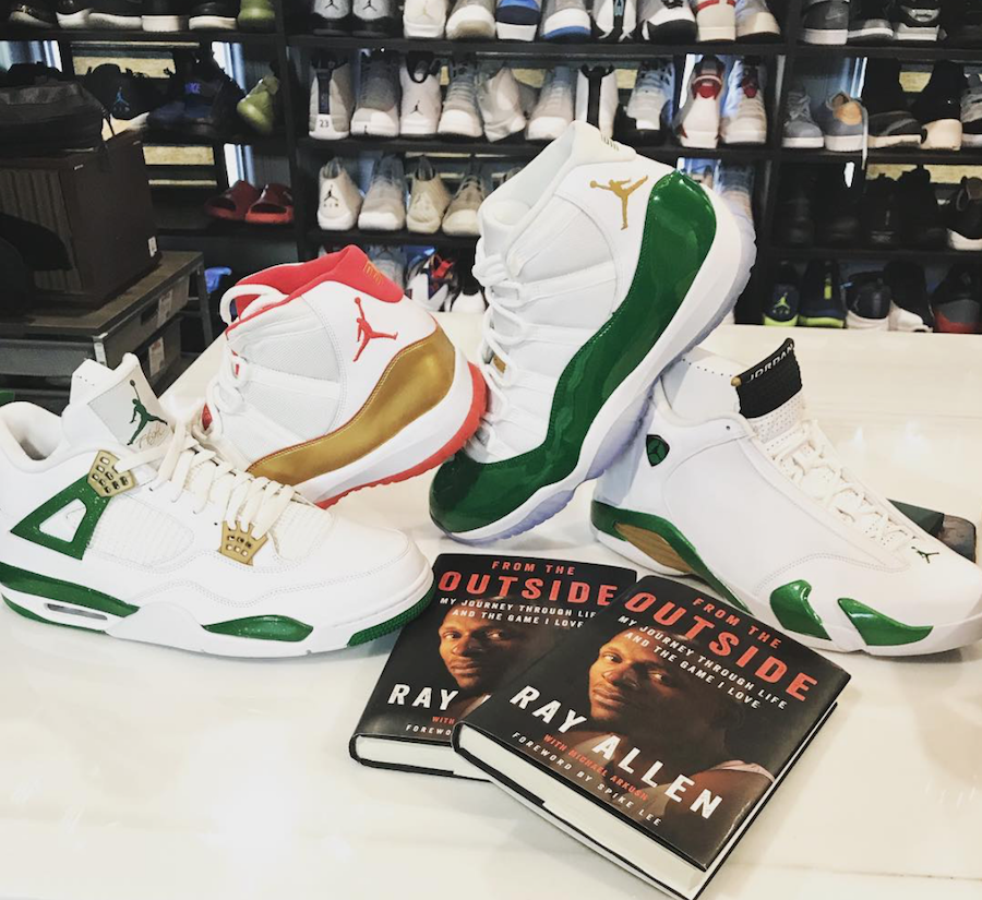 Ray Allen Air Jordan Player Exclusives
