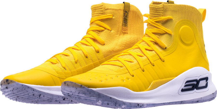 Shoe Palace Under Armour Curry 4 Yellow