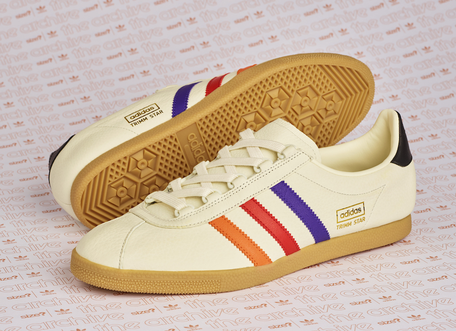 size? adidas Archive Trimm Star VHS