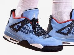 Travis Scott Air Jordan 4 Houston Oilers 308497-406 Release Date
