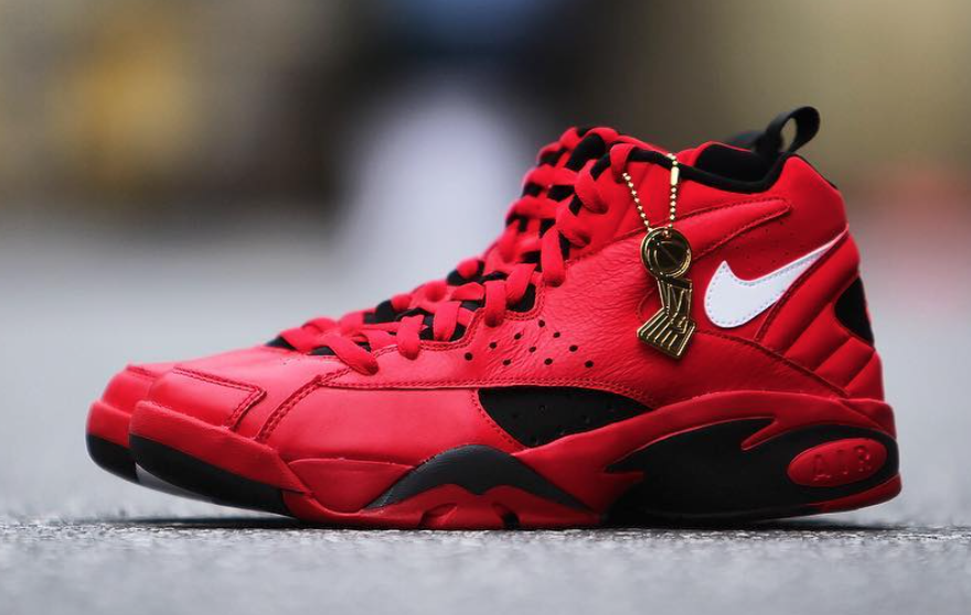 Trifecta Nike Air Maestro II University Red Scottie Pippen