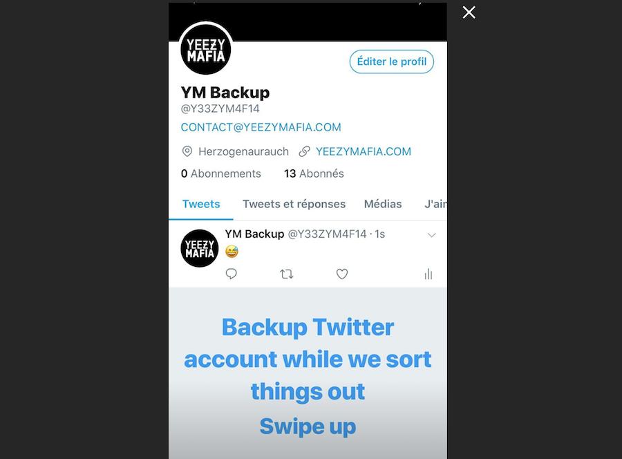 Twitter Suspends Yeezy Mafia Account