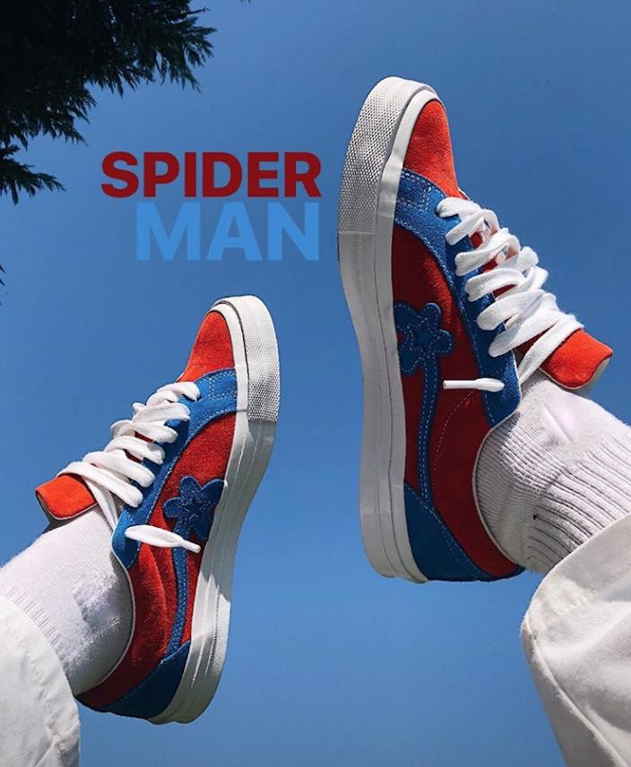 Tyler The Creator Converse Golf le Fleur Spider-Man